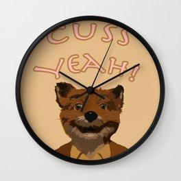 Cuss Yeah!  Wall Clock