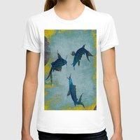 koi T-shirts featuring Koi  by Saundra Myles