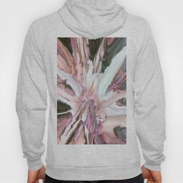 Flower Abstract in Peach, Pink and White Hoody