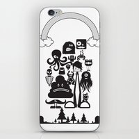 monster inc iPhone & iPod Skins featuring Monster Collection Inc  by Dei Hendrick