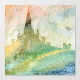 Unity - 23 Watercolor painting Canvas Print