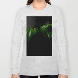 Two Green Peppers Long Sleeve T-shirt