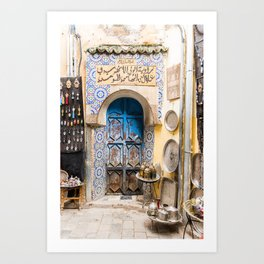 Doorways - Fes, Morocco II Art Print