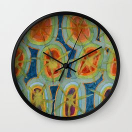 Radiant Circles Wall Clock