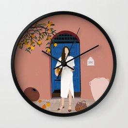 A Sweet Summer Wall Clock