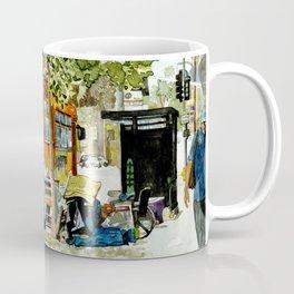 Homeless Series 5 ~ Sunset Blvd., Los Angeles, CA. Coffee Mug