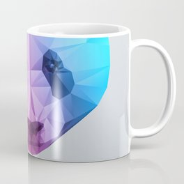 Polygon Panda Bear Coffee Mug