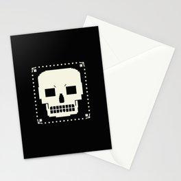 grrr skull. Stationery Cards