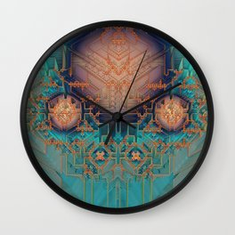 Ayahuasca Wall Clock