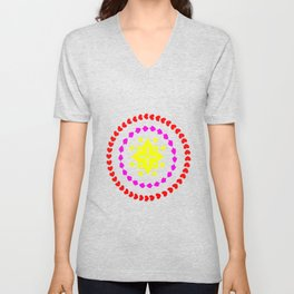 lighter flower Unisex V-Neck