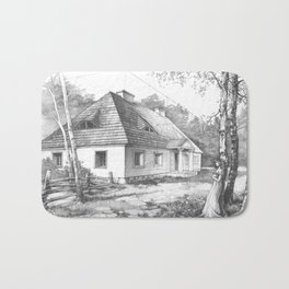 Traditional Polish Mansion Bath Mat