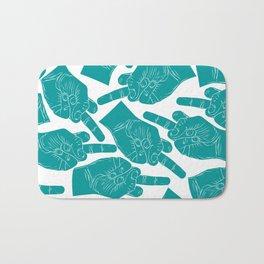 Nicole Archer Middle Finger Bag Bath Mat