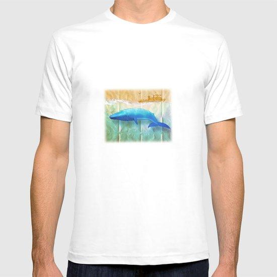 the beauty beneath _ humpback whale T-shirt