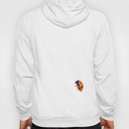 Ladybug on white background #decor #society6 Hoody