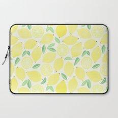 Summer Lemons Laptop Sleeve