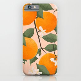 fresh citrus iPhone Case