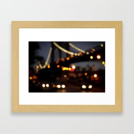 Brooklyn Bridge, NY Framed Art Print