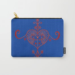 Voodoo Symbol Erzulie Carry-All Pouch