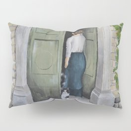 Going In and Out Pillow Sham