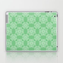 Sage Green Spring Lace Laptop & iPad Skin