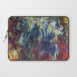 "Claude Monet ""Weeping Willow, Giverny"", 1922 Laptop Sleeve"