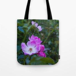 Summer pink wild flowers Tote Bag