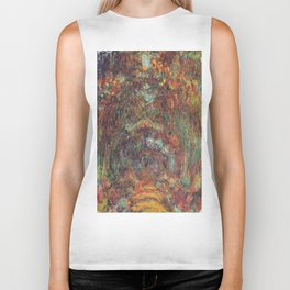 Claude Monet's The Rose Walk, Giverny Biker Tank