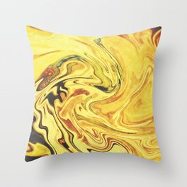 Abstract Painting X.3 Throw Pillow