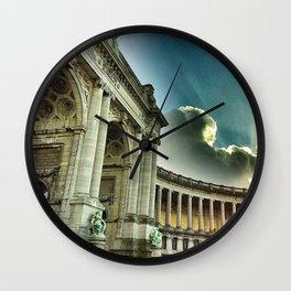 Arc, Parc du Cinquantenaire Wall Clock