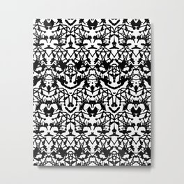 Rorschach madness Metal Print