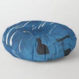 Meteor Shower Floor Pillow