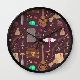 Adventure ho! Wall Clock