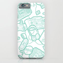 Audiophile Graveyard iPhone Case