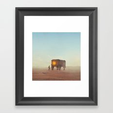 OLD FRIEND (everyday 12.20.15) Framed Art Print