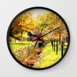 Whisky Creek Wall Clock