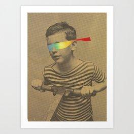 Occhiali cromodimensionali Art Print