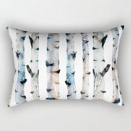 New Birch Trees Forest Rectangular Pillow
