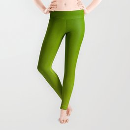 Color gradient – green and yellow Leggings