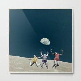 Space Jumpers  Metal Print