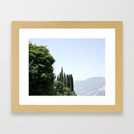 Italian landscape Framed Art Print