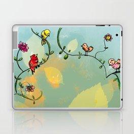 Three little birds Pitch by my door step Laptop & iPad Skin