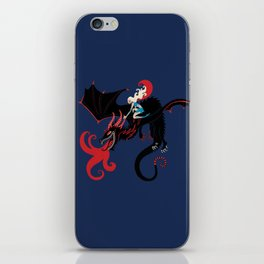 Mother of dragons iPhone Skin