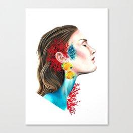 Underwater dream Canvas Print