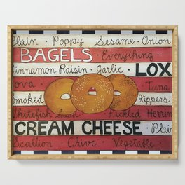 Bagels Serving Tray