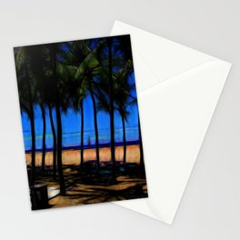 Hawaii Beach At Midday Stationery Cards