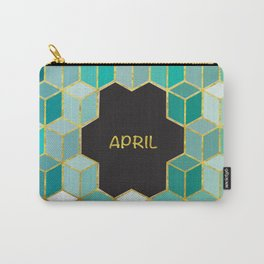 Cubes Of April Carry-All Pouch