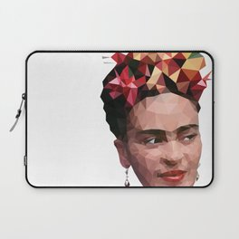 Frida in low poly Laptop Sleeve
