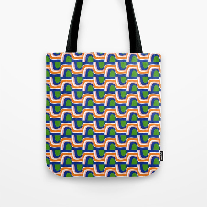 Under and Over Tote Bag