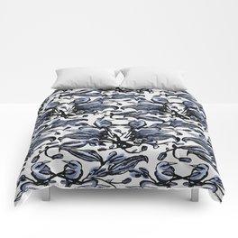 Birds Flat Comforters