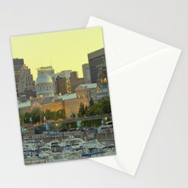 Crowded City Stationery Cards